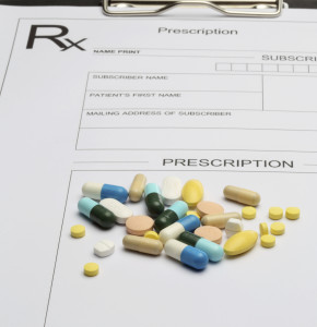 Prescription and pills